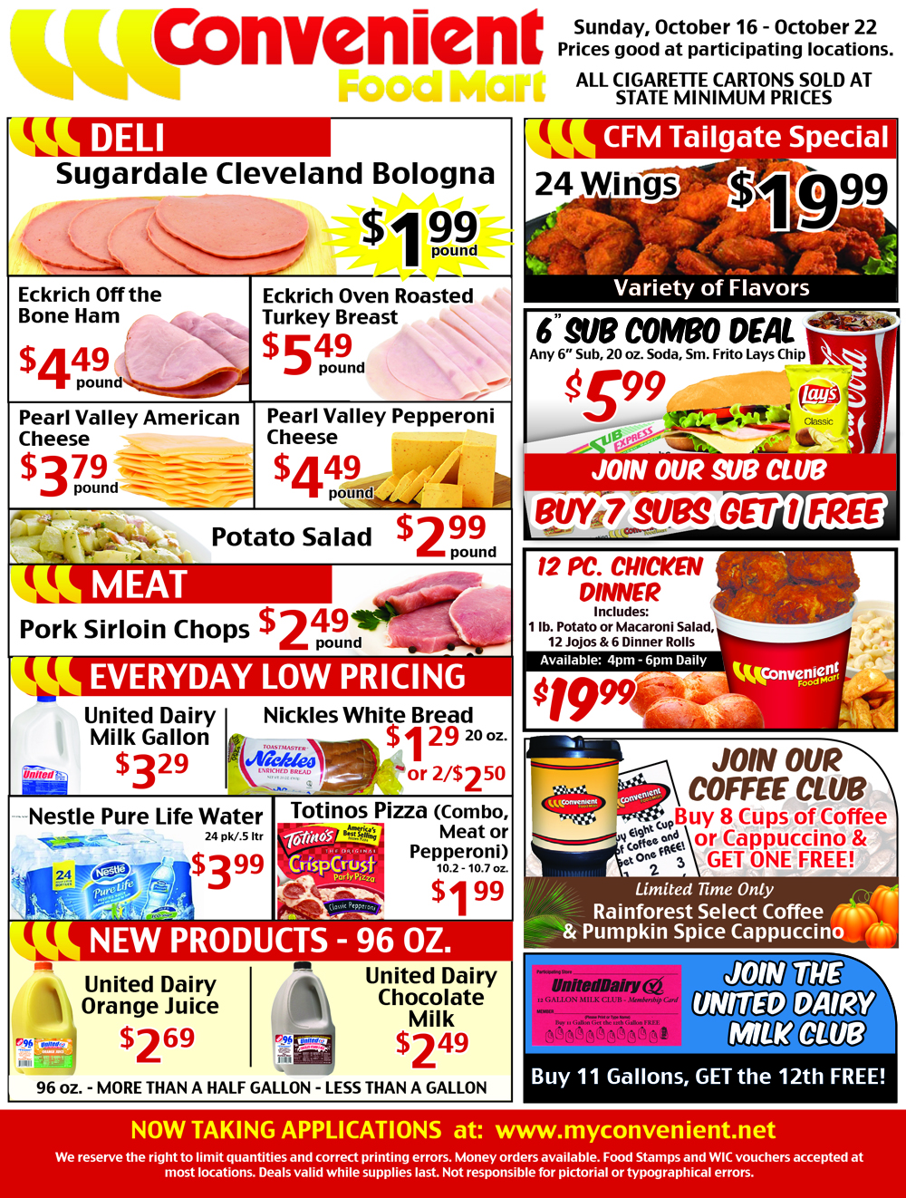Weekly Ad October 16