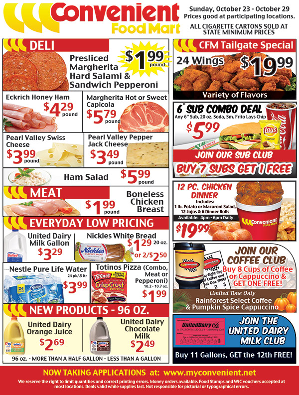 Weekly Ad October 23