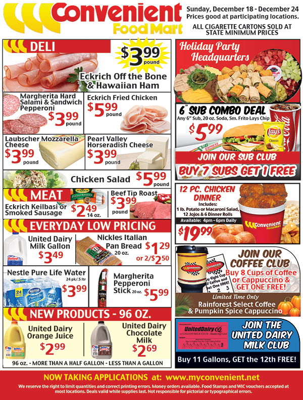 Weekly Ad Page 125 Of 135 Convenient Food Mart