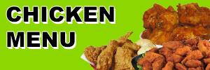 Chicken Menu for Convenient Food Mart