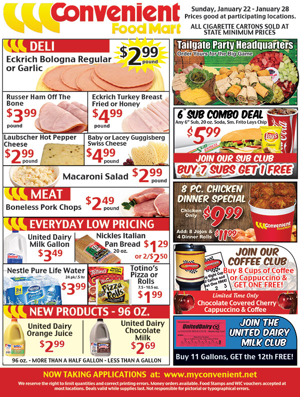 Weekly Ad for January 15, 2017