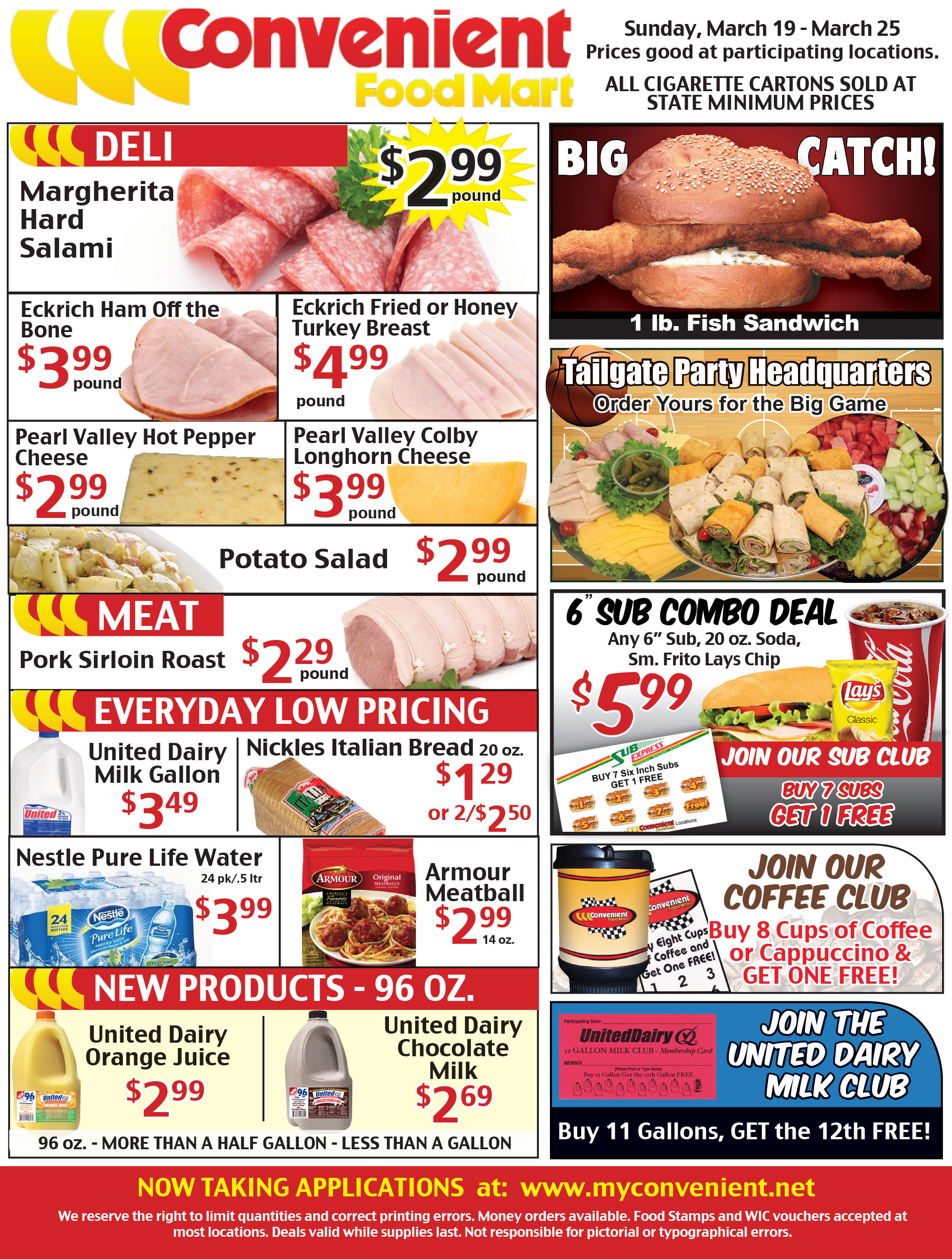Weekly Ad March 19
