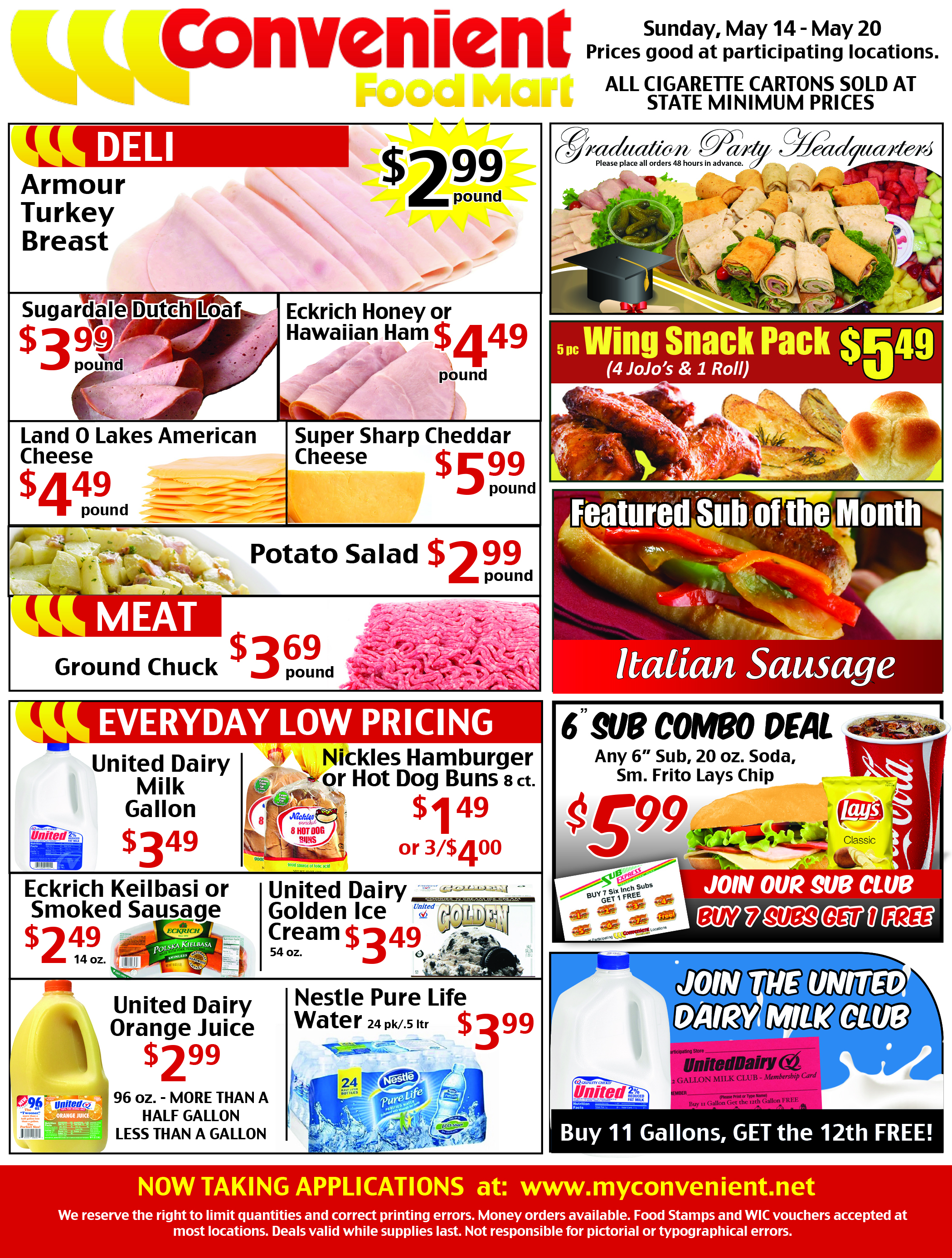 Convenient Weekly Ad